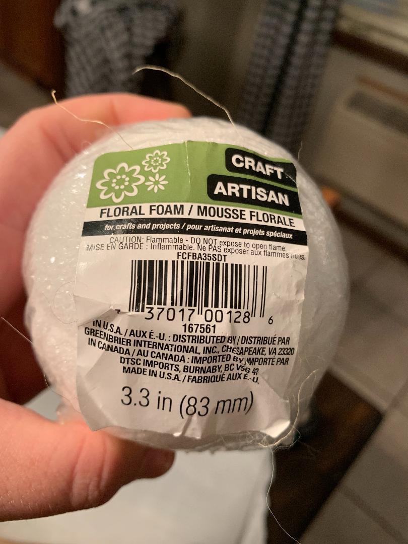 styrofoam-ball