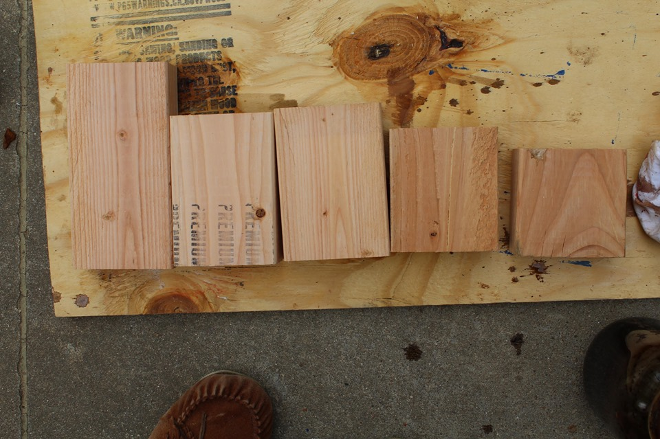 how to make decorative wood blocks