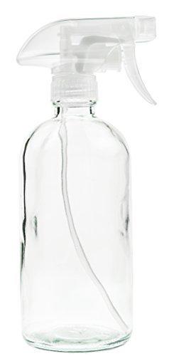clear 16oz spray bottle