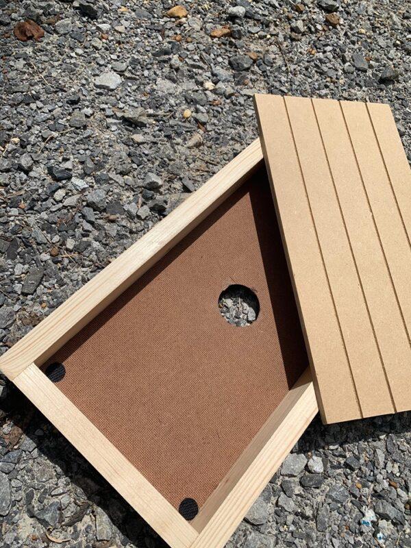 nesting box frame and insert