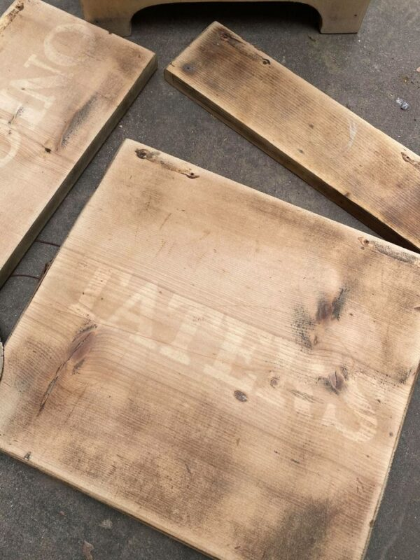 WOOD BLEACHED PROJECT