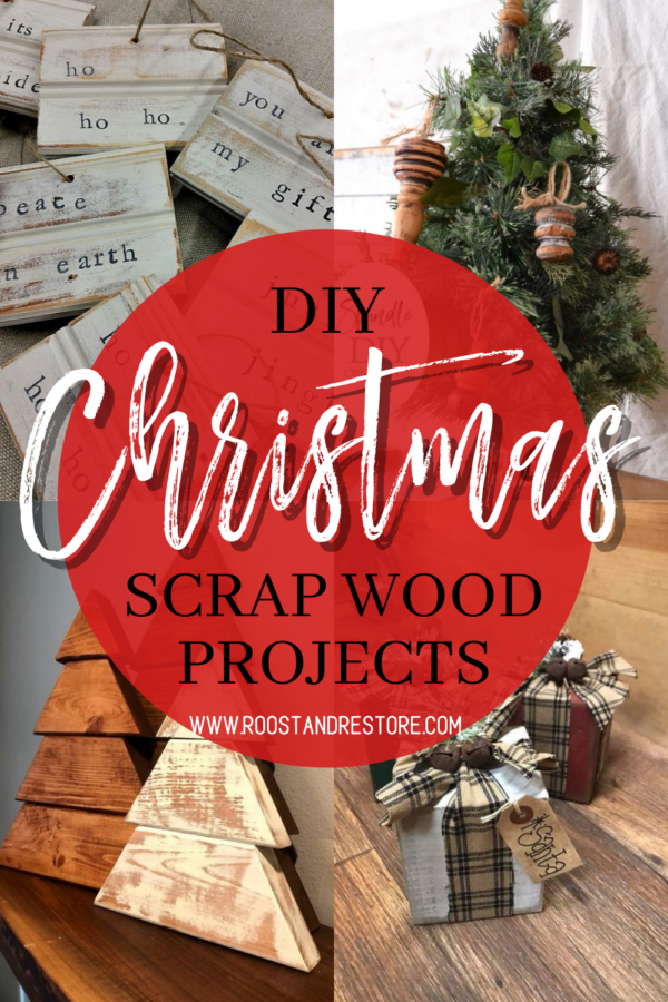 Christmas scrap wood projects