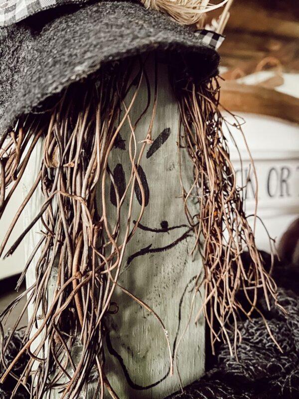 scrap wood witch