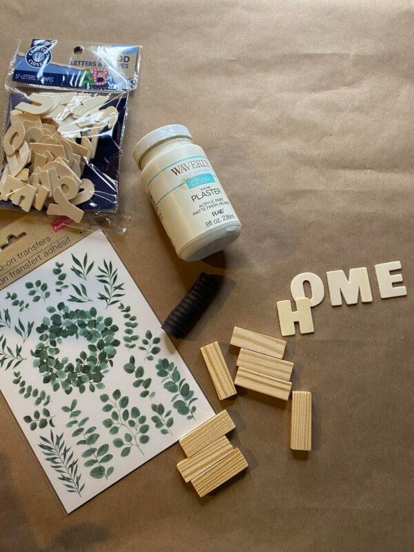 pretty jenga block magnet diy supplies
