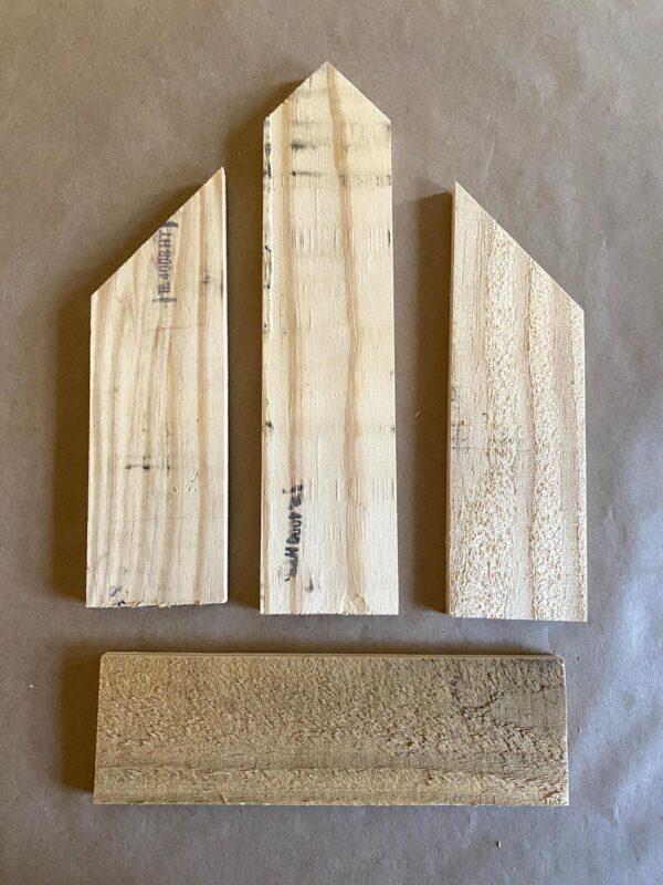 pallet wood church diy