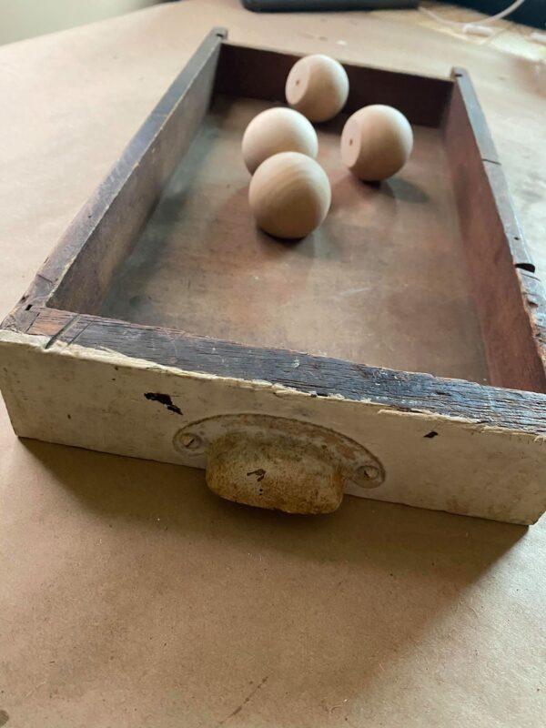 diy tray using old drawer