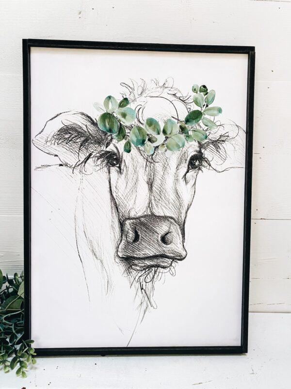 The Homegoods Market - Farm Animal Cow Wall Art