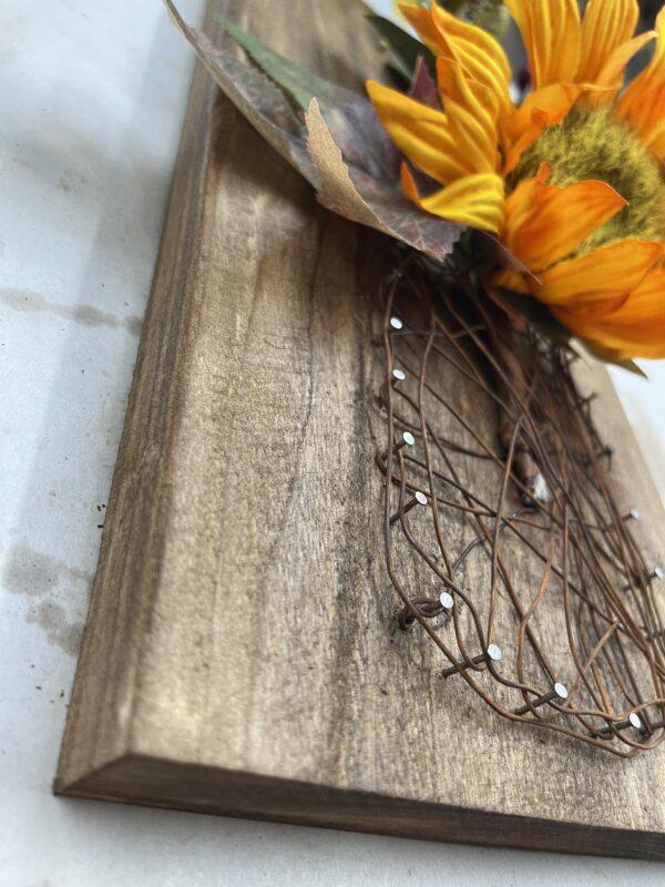 rusty wire mason jar