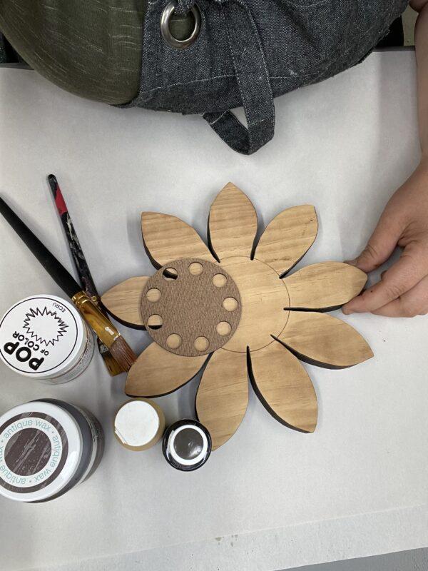 Wood Project Box Sunflower DIY - The HomeGoods Market