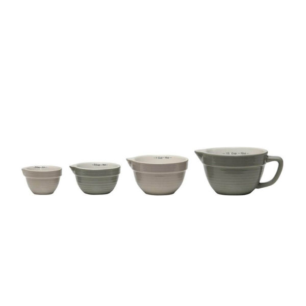 The HomeGoods Market - Stoneware Measuring Cups