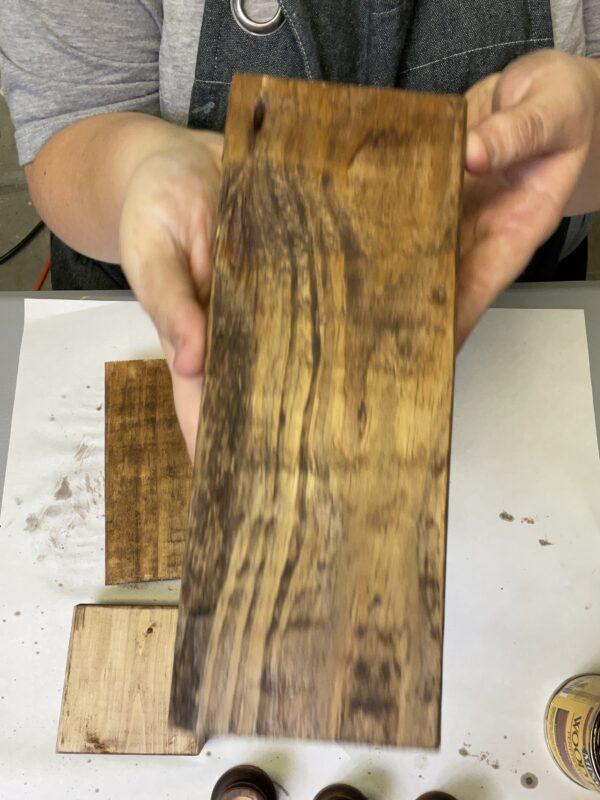 Roost and Restore - Neutral Scrap Wood Pumpkin DIY