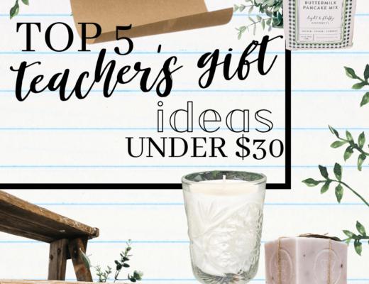 5 Teacher Gifts Under 30 - The HomeGoods Market