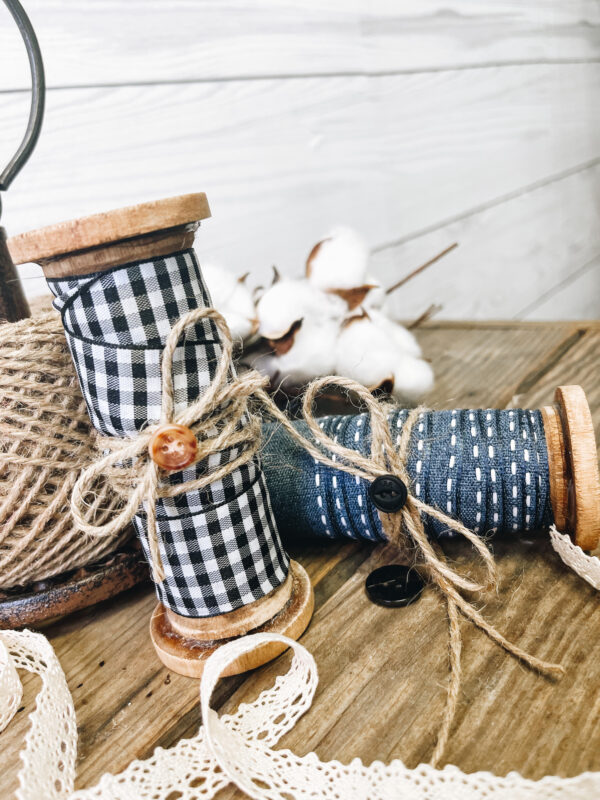 Roost and Restore - Vintage Inspired Wood Spools
