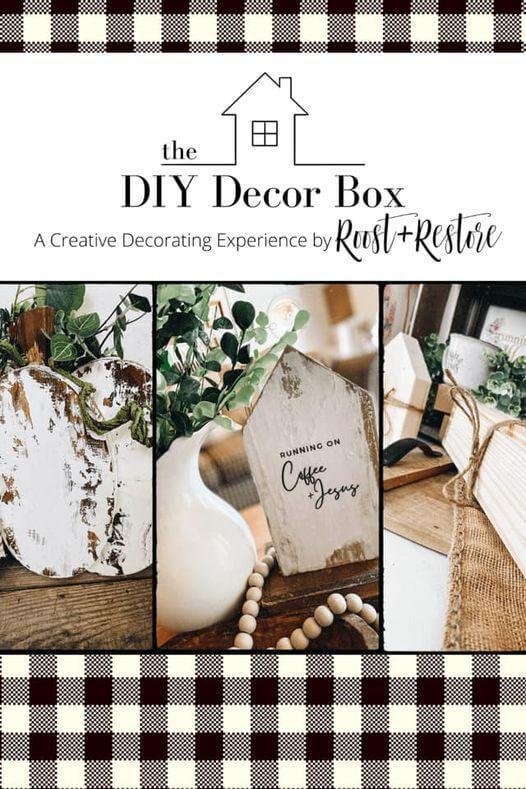 Roost and Restore - DIY Decor Box Kaycee