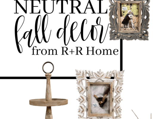 Roost and Restore Home - Neutral Fall Farmhouse Decor