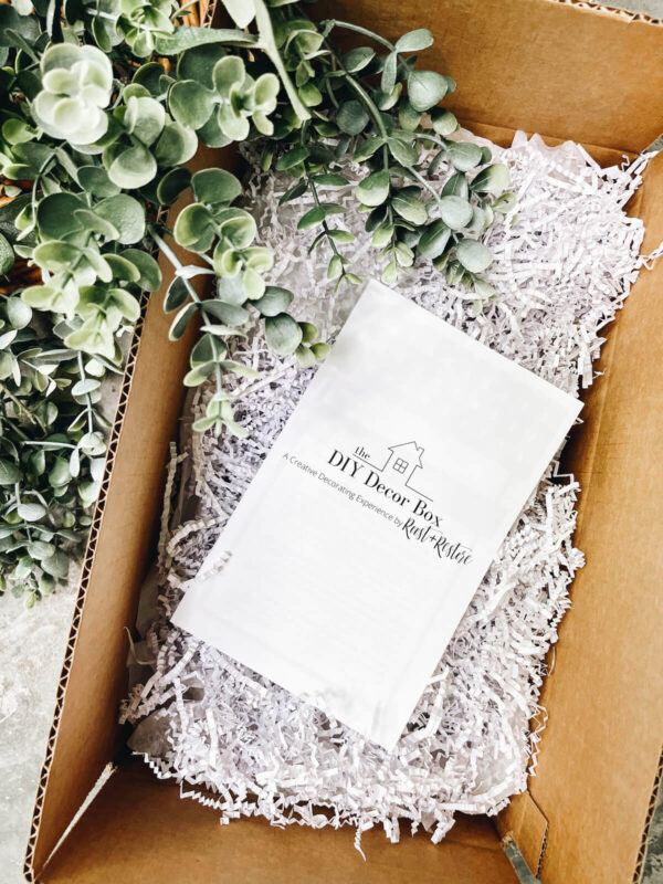 roost and restore - September DIY Decor Box reveal
